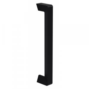 Poignée de tirage noir mat entraxe 200 mm