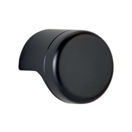 Bouton de meuble noir POINT