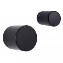 Bouton de meuble mini cylindre OSCAR noir