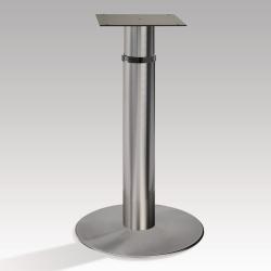Pied de table péninsule hauteur réglable 720 à 920 mm