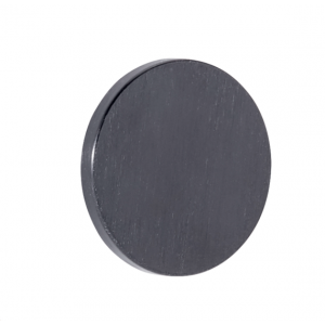 Bouton de meuble PLATO noir brossé