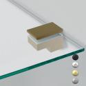 Support pour étagère réctangulaire