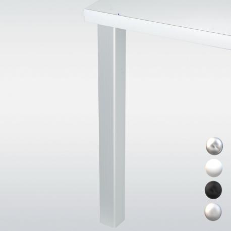 Pied de table carré 60 - hauteur 1100 mm