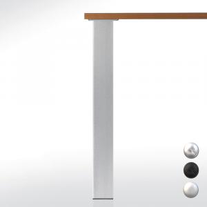 Pied de table carré 80 - hauteur 1100 mm