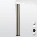 Pied de table hauteur 710 ou 870mm diam 80mm