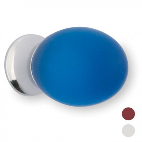 Bouton de meuble fantaisie forme ovale