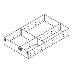 Casier double range-ustensiles