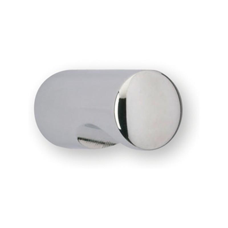 Scandinave ovale Cylindre Interne Thumb Turn Chrome Satiné