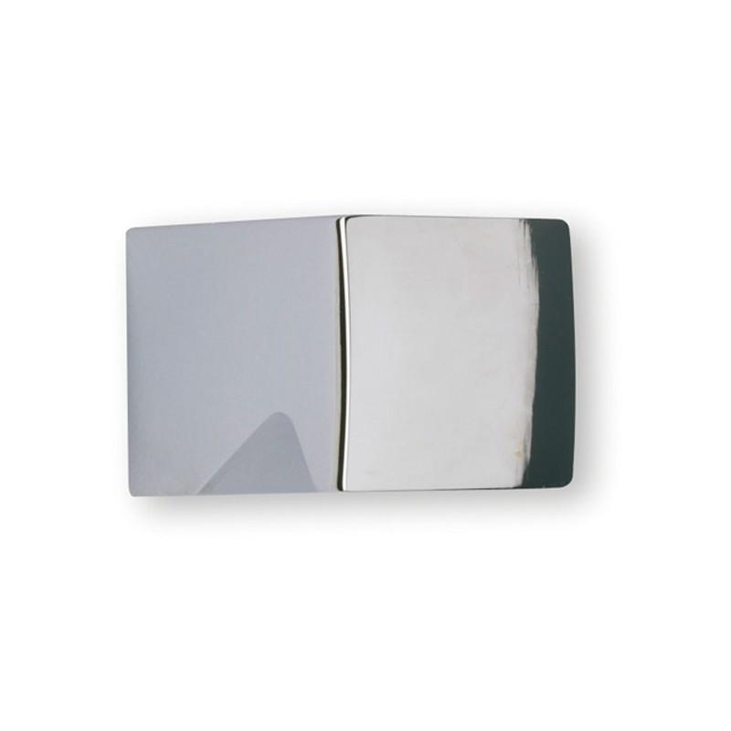 MERCERIE ANCIENNE  BOUTON carré blanc   1,2 cm 242