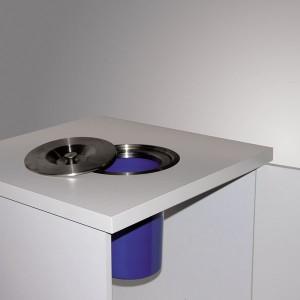 poubelle de cuisine encastrable pivotante coulissante. Black Bedroom Furniture Sets. Home Design Ideas