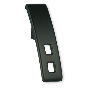Bouton de meuble métal noir AKURA