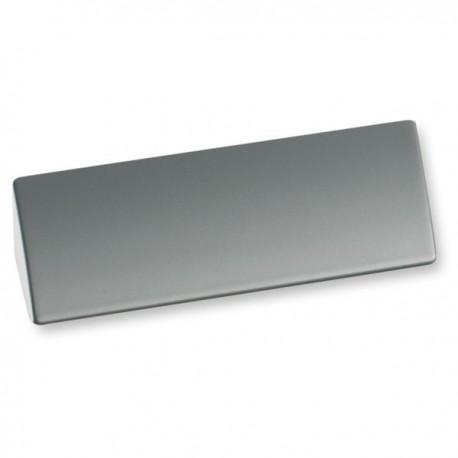 Poignée look aluminium forme rectangle