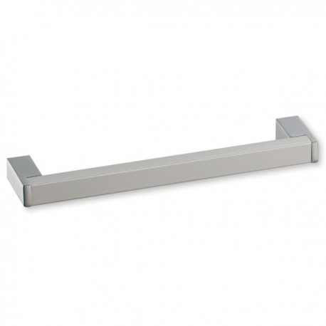 Poign e cuisine aluminium forme rectangle for Poignee meuble cuisine