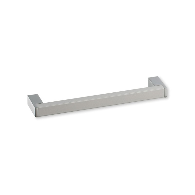 Poign e cuisine aluminium forme rectangle for Poignee de porte de meuble de cuisine