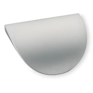 Poignée de meuble look aluminium petit Shark