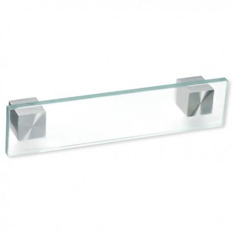 Poignée de meuble verre forme rectangle