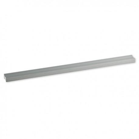 Poignée de meuble aluminium barre