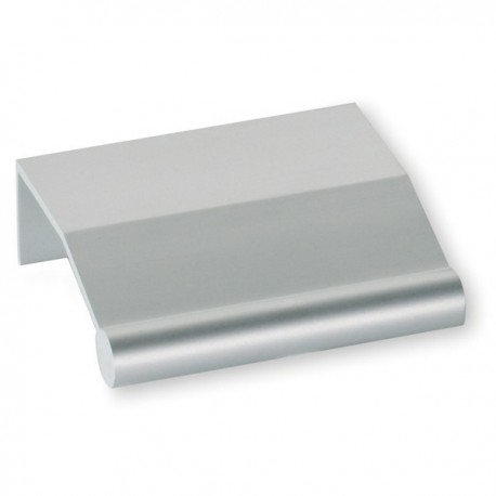 Poignée de meuble aluminium Tirette