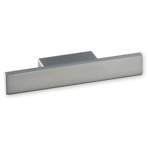 Poignée de meuble look aluminium Ele