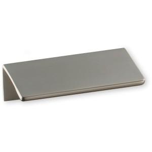 Poignée de meuble look inox Profil tirette