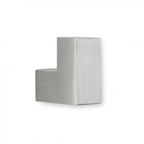 Patère quadro en aluminium