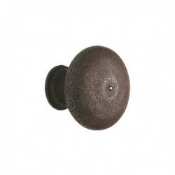Bouton de meuble vintage champignon effet rouillé