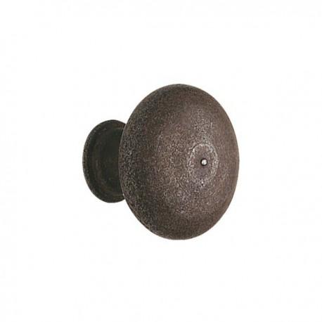 Bouton de meuble fer champignon