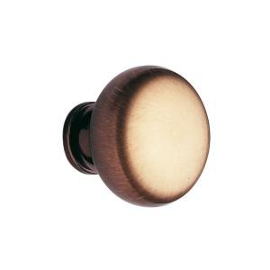 Bouton de meuble laiton anglais bronzé