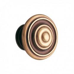Bouton de meuble laiton bronzé