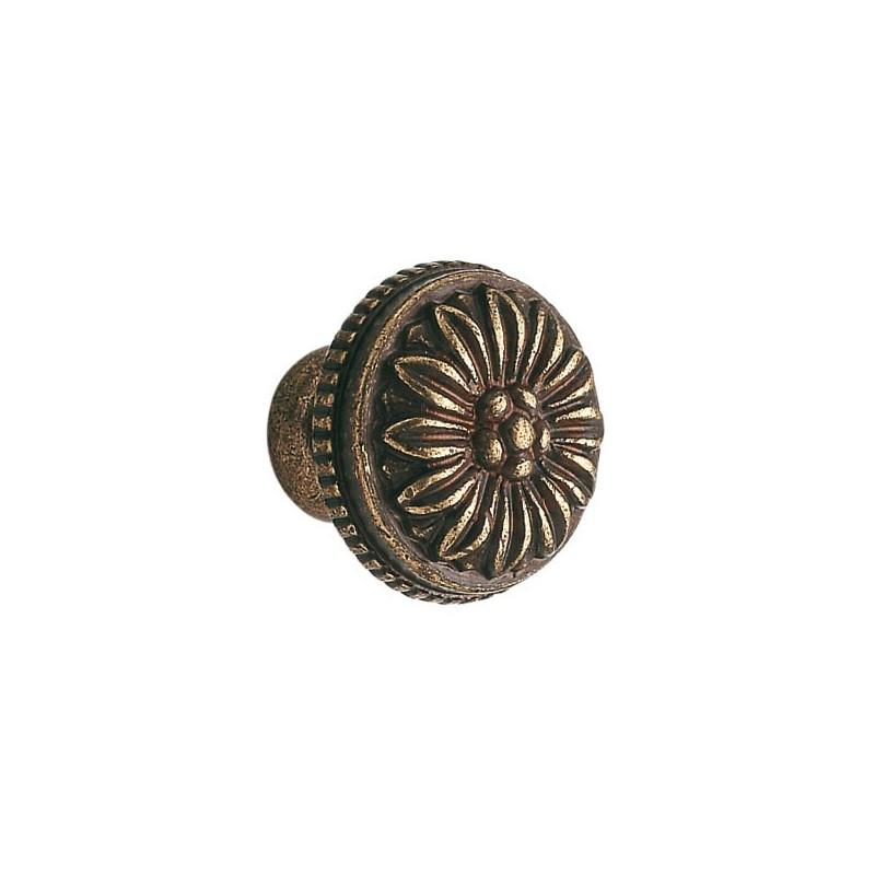 Bouton laiton louis xvi bronz - Coin de meuble en laiton ...