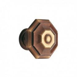 Bouton de meuble laiton Régency