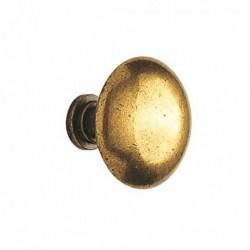 Bouton de meuble zamack bronzé