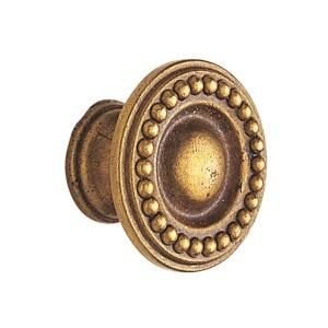 Bouton style ancien bronzé