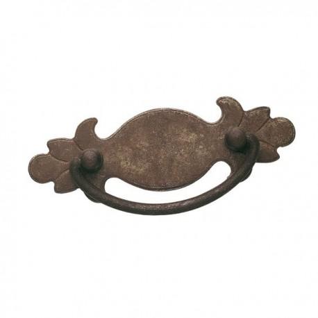 Poignée de meuble vieux fer