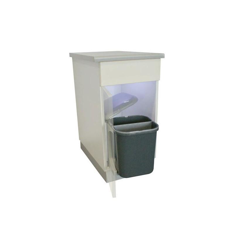 poubelles encastrables cuisine 30 litres sous évier - i love details - Grande Poubelle Cuisine