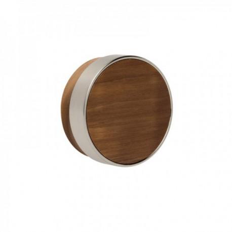 Bouton de meuble bois Radio noyer