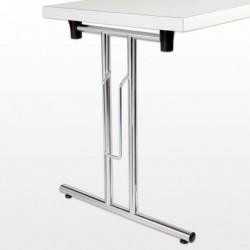 Set de pieds de table repliables
