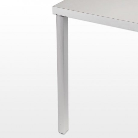Pied de table alu ARCO, hauteur : 700 mm