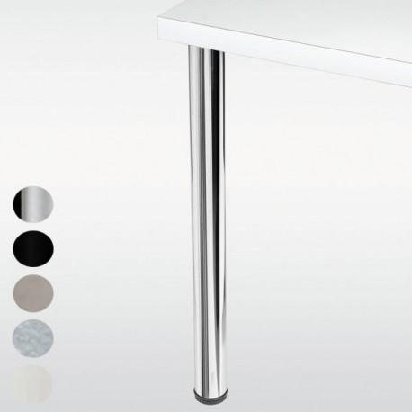 Pied de table rond CHESTER hauteur 710mm, diamètre 60mm
