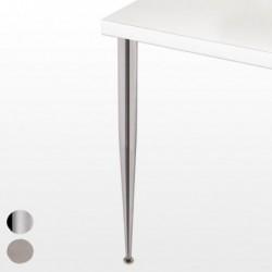 Pied de table conique - hauteur 710 mm