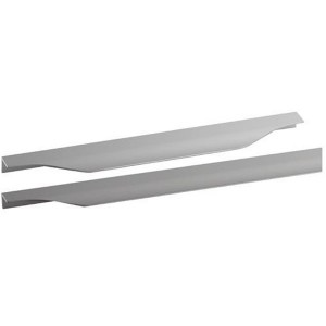 Poignée profil de meuble cuisine aluminium tirette forme vague