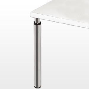 pieds de table r glables en hauteur facilement rond et inox i love details. Black Bedroom Furniture Sets. Home Design Ideas