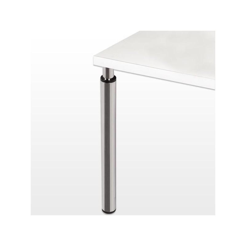 Pied r glable hauteur 705 905 mm - Pied de table hauteur 90 ...