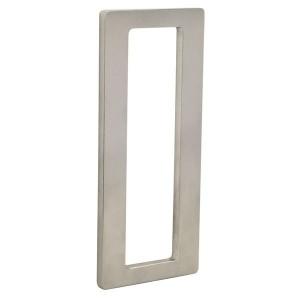 Set de 2 poignées pour porte coulissante à coller rectangle