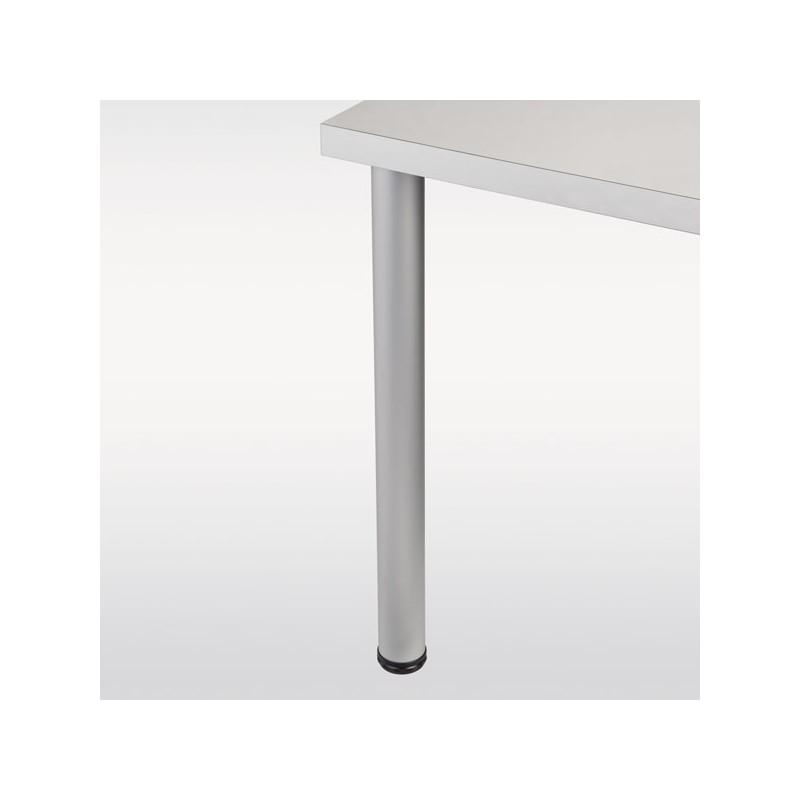 Pied De Table Aluminium Rond