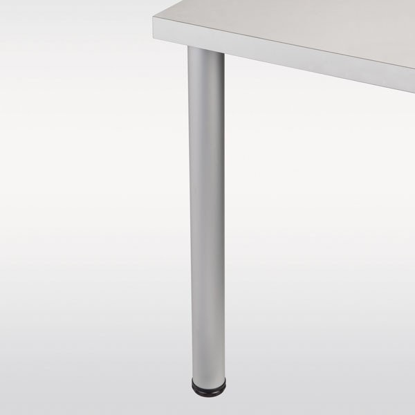 Pied De Table Alu.Pied De Table Aluminium Rond Hauteur 710 Mm