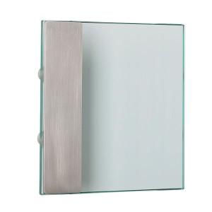 Poignée de porte d'entrée verre inox