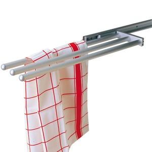 Porte serviettes coulissant 3 branches