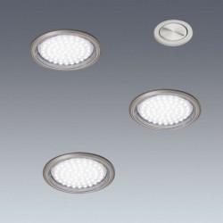 Kit 3 spots LED à encastrer + interrupteur