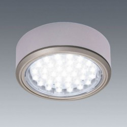 Kit 1 Spot LED en applique diam 78mm